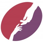 crisis center logo - hands